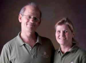 Image Missing: Janet Moyer and Michael Hofman of Janet Moyer Landscaping