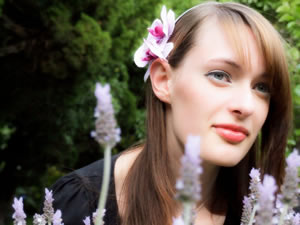 Image Missing: Floral hair adornments by I.K. Bonita